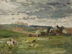 Robert Sterl: Atelier in Wittgenborn