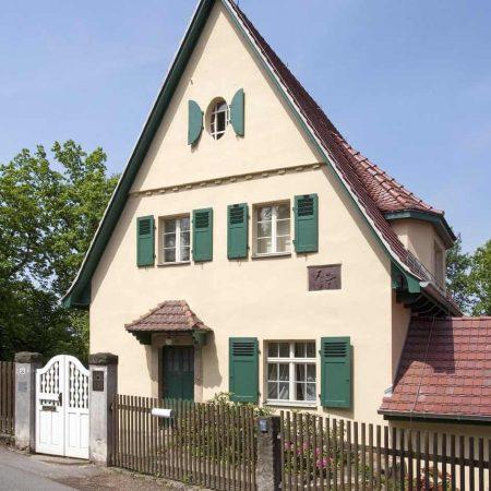 Foto vom Robert-Sterl-Haus, Straßenseite