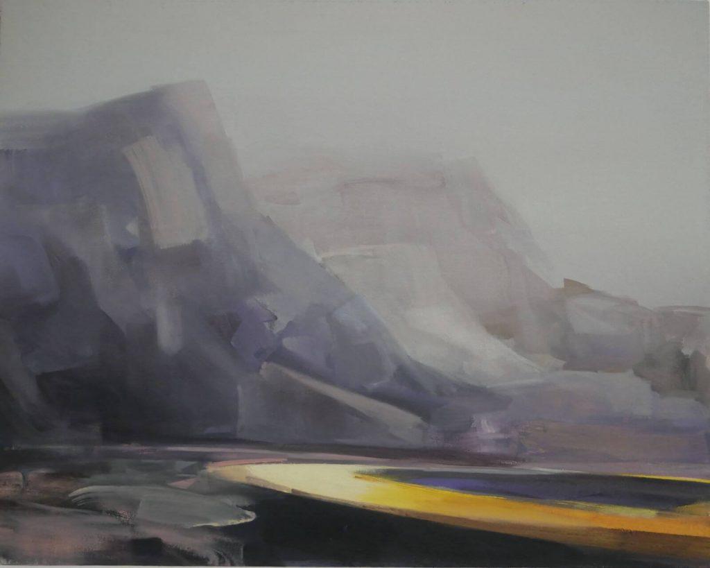 Gemälde von Mona Pourebrahim: Ohne Titel, 2020