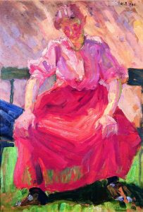Martha Schrag: Frau in der Sonne